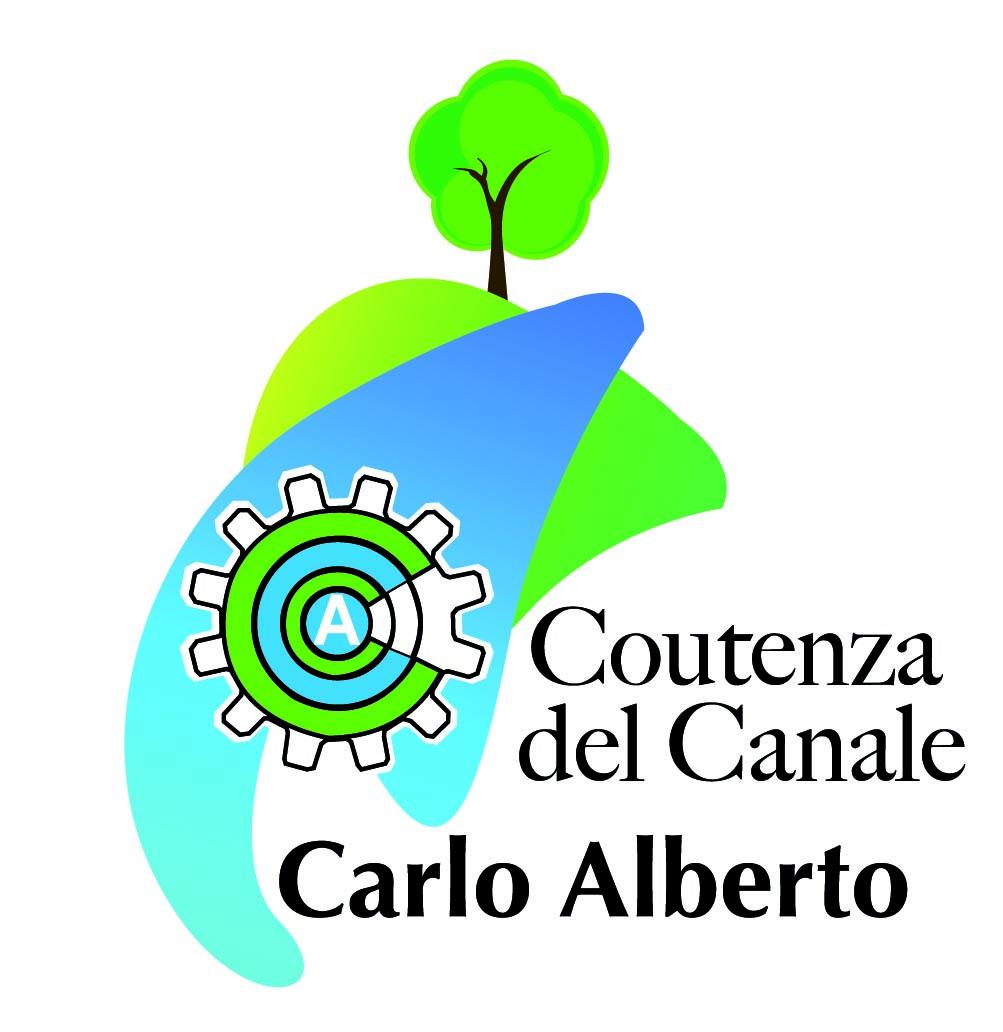 Logo Coutenza del Canale Carlo Alberto