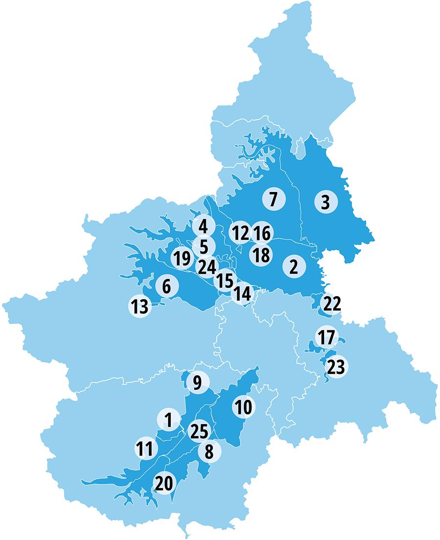 ANBI Piemonte: enti territoriali coinvolti